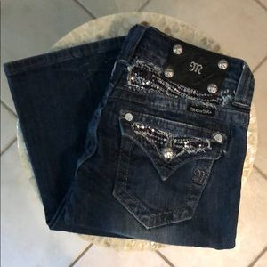 •WOMENS MISS ME JEANS•BOOT CUT SIZE 25-NWT